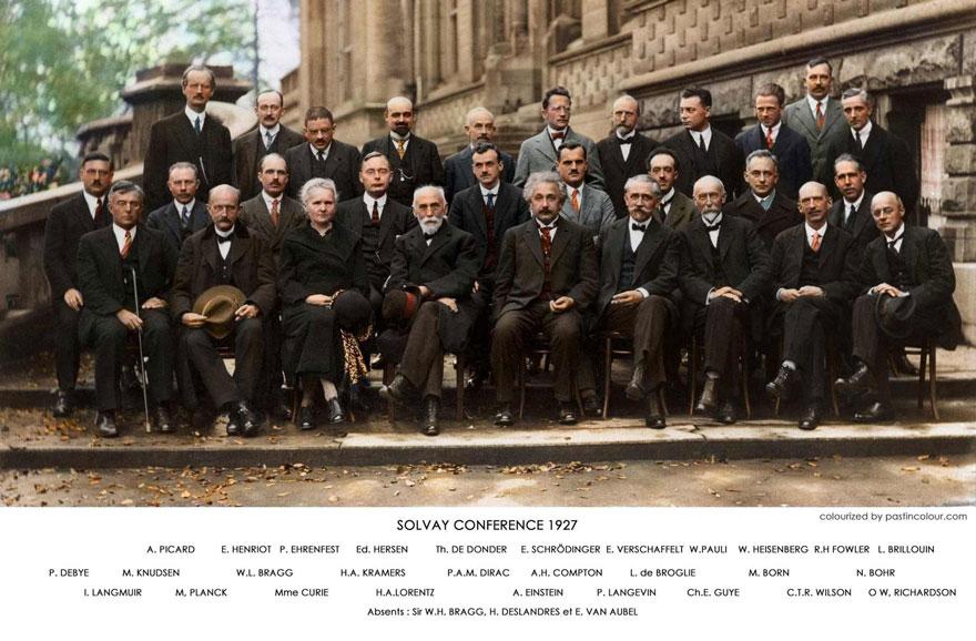 مشهورترین عکس دنیای فیزیک! - همیار فیزیک